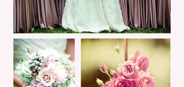 Модерни цветове за пролетно- лятна сватба 2017