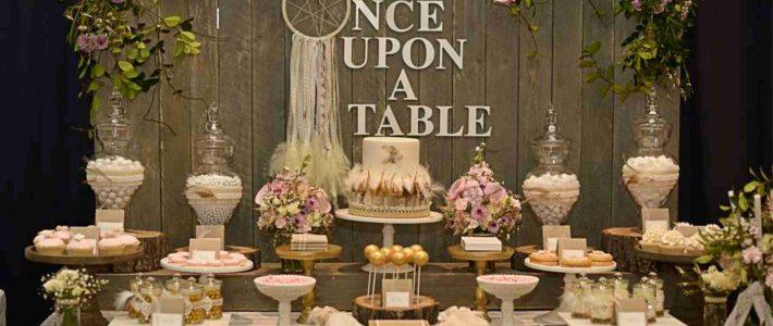 Сладката маса като допълнение към сватбената торта