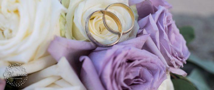 Сватба в ултравиолетово